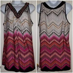 Avenue women's sleeveless blouse